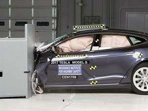 Tesla Model S no obtiene el Top Safety Pick del IIHS