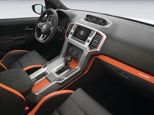 Así es el el interior del Volkswagen Amarok 2015