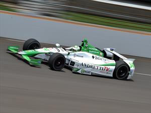 Carlos Muñoz saldrá desde la séptima posición en las 500 millas de Indianápolis