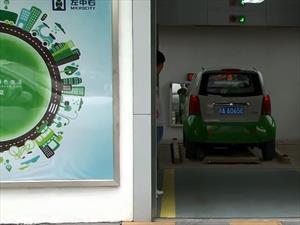 Ahora en China hay máquinas expendedoras de vehículos