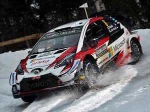 WRC 2019: Toyota y Tänak conquistan la nieve sueca