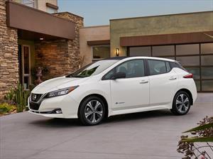 Esta es la segunda generación del Nissan Leaf
