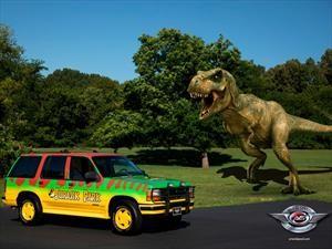 Una replica de la Ford Explorer de Jurassic Park sale a la venta