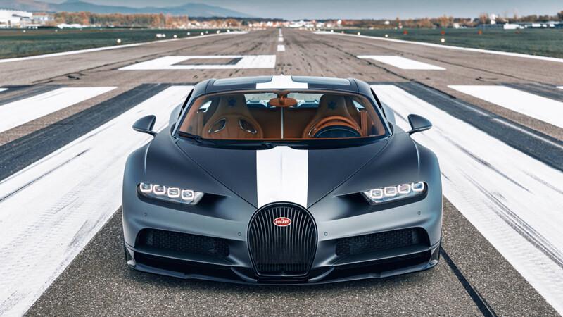 Bugatti homenajea a sus pilotos aéreos con una nueva edición especial del Chiron Sport