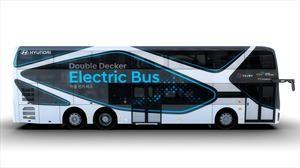 Hyundai sorprende con su bus eléctrico de dos pisos