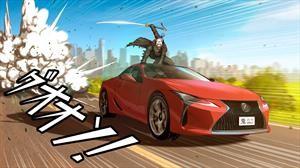 Lexus ES, UX y LC son reinterpretados al estilo manga