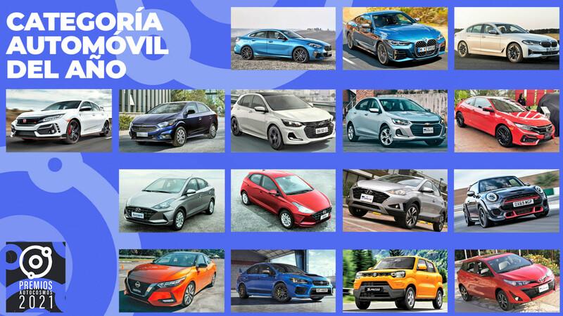 Premios Autocosmos: candidatos al Automóvil de 2021