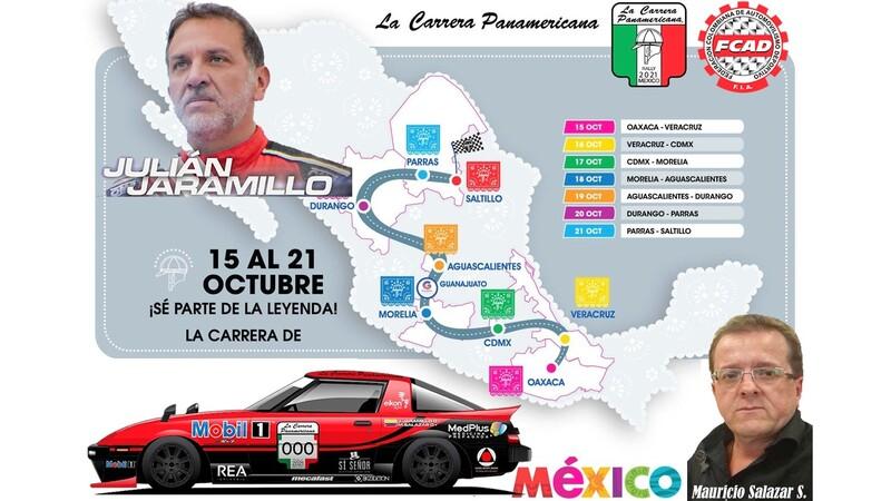Colombia tendrá digna representación en la Carrera Panamericana 2021