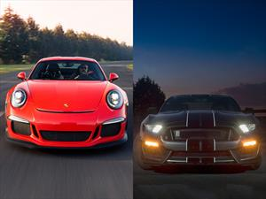 Shelby GT350 vs Porsche GT3 RS
