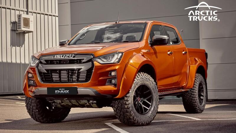 Arctic Trucks le mete mano a la nueva Isuzu D-Max