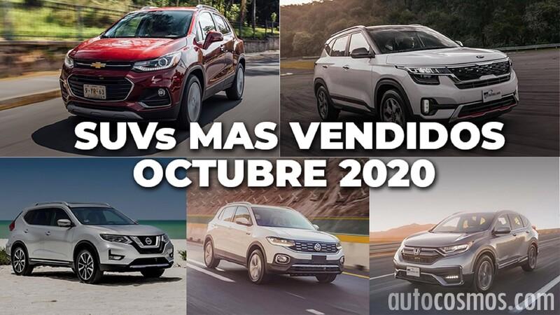 Los 10 SUVs más vendidos en octubre 2020