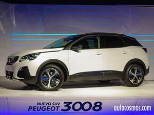 Peugeot 3008 2017, vanguardia y sofisticación desde $16.990.000