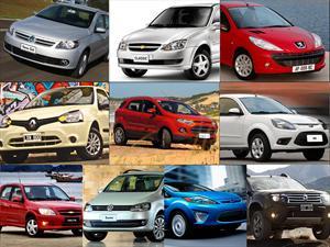 Top 10: los autos más vendidos en Argentina en marzo de 2013