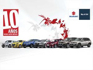 Suzuki cumple 10 años en México