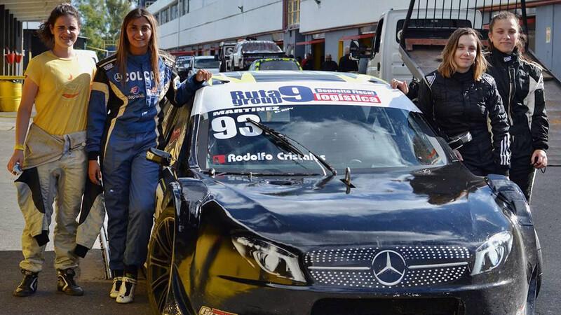Conocé al equipo 100% femenino que participará en el automovilismo nacional