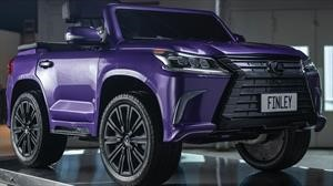 Conoce el nuevo Lexus LX convertible desarrollado para niños con parálisis cerebral