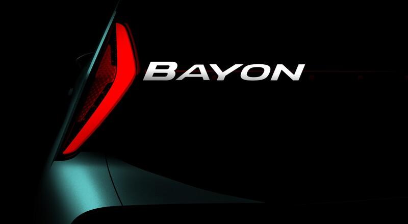 Hyundai insiste con la moda SUV: se viene el Bayon