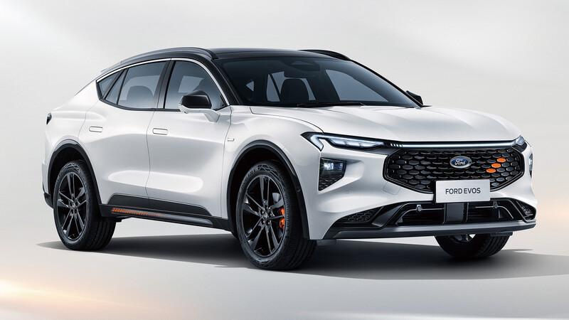 Ford Evos, el relevo del Mondeo se devela en Shanghai 2021