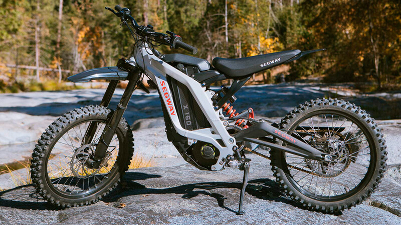 Segway Dirt eBike, la bici con torque de auto deportivo