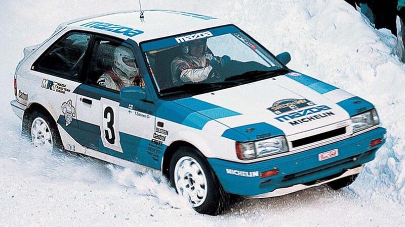 Conoce el Mazda 323 4WD, el ancestro del nuevo Mazda3 Turbo