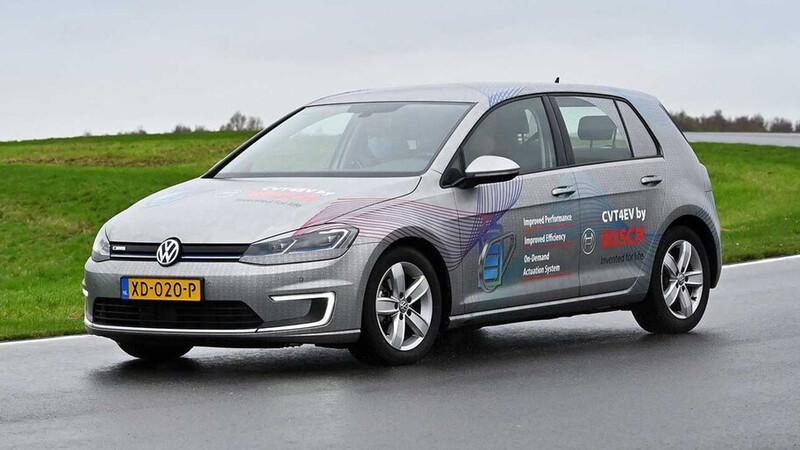 Bosch le apuesta a la transmisión CVT para los autos eléctricos