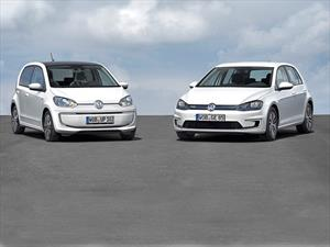Volkswagen e-Golf y el e-up! debutan
