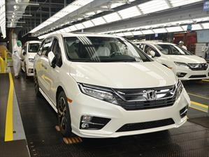 Honda Odyssey 2018, comienza su producción