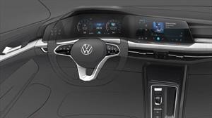 Así será el interior de la nueva generación del VW Golf Mk 8