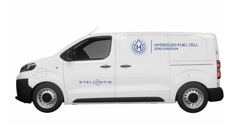 Stellantis usará hidrógeno para sus utilitarios cero emisiones