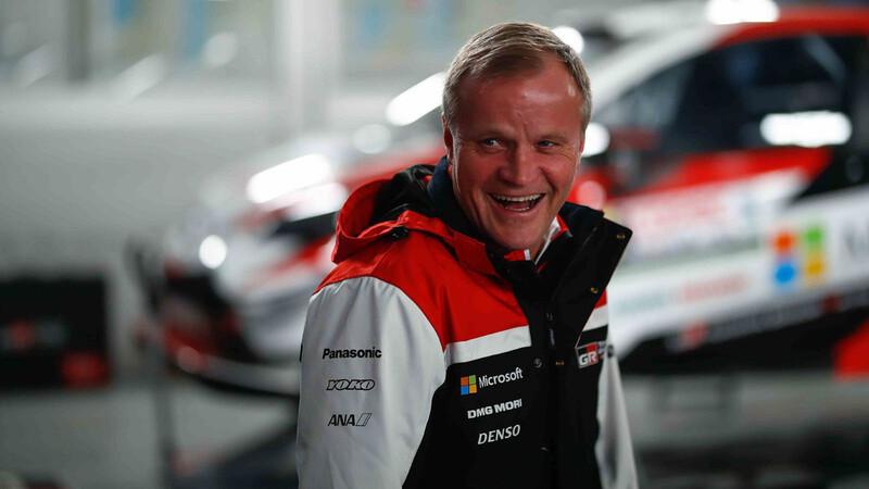 Tommi Mäkinen será el nuevo asesor de la división Toyota Gazoo Racing para 2021
