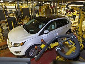 Inicia la producción del Ford Edge 2015