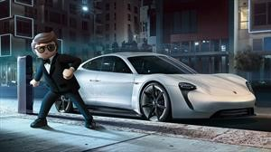 Porsche Mission E hace su aparición en Playmobil: The Movie