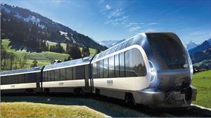 Además de autos, Pininfarina diseña espectaculares trenes como este Goldenpass Express