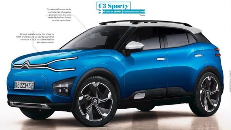 Citroën C3 Aircross: Así podría ser su sucesor