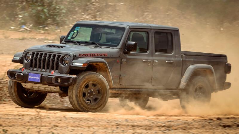 Manejamos la Jeep Gladiator Mojave 2021