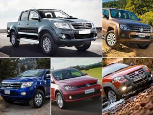 Top 5 las pick-ups más vendidas de Argentina en abril de 2015