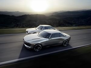 Peugeot e-Legend, un moderno homenaje al 504 coupé