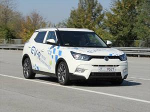 SsangYong presentará el Tivoli EV-R en 2019