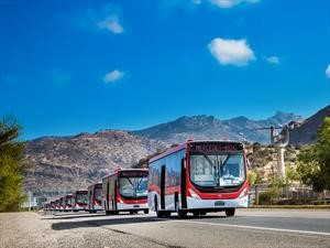 490 buses Mercedes-Benz Euro 6 se unen al Transantiago