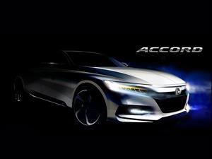 Honda Accord 2018 mejora en diseño, desempeño y tecnología