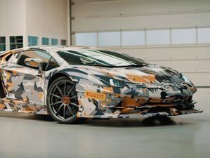 Lamborghini Aventador SVJ es el nuevo rey de Nürburgring