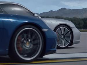 Sharapova y Muhammad Ali protagonizan nuevo comercial del Porsche 911