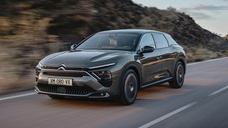 Citroën C5 X: el sedán vuelve como un SUV Familiar deportivo
