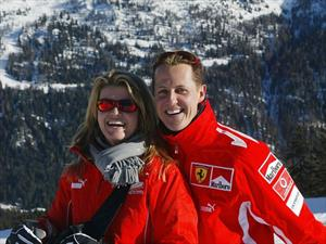 Michael Schumacher avanza ''lentamente'