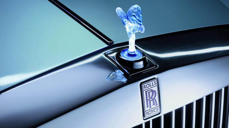 Rolls-Royce no podrá usar la versión iluminada del Espíritu del Éxtasis