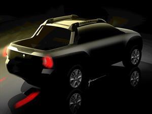 Renault anticipa su nueva pick-up para el Salón de BA