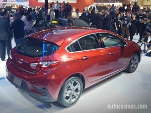 Chevrolet Cruze Hatchback en el Salón de Sao Paulo 2016