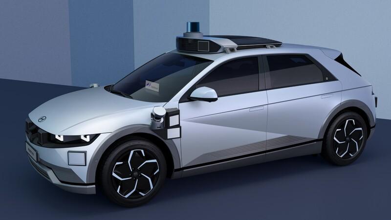 Ioniq 5 Robotaxi, el Hyundai que se maneja solo