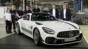 Arrancó la producción del nuevo Mercedes-AMG GT