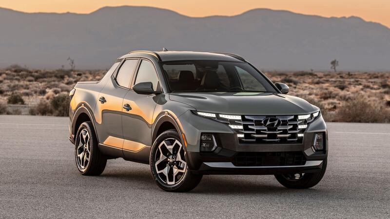 Hyundai Santa Cruz 2022, nada más no le digas pick up